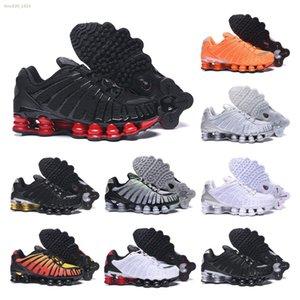 Nike Shox TL Mens TL Scarpe Skeptaes Alba Velocità Red Neymar Python Pony R4 Esecuzione 2019 nuovo arrivo uomo uomini dello stilista Tl Pattini degli addestratori delle scarpe da
