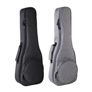 Estuche para bolsa Ukulele Espesar Soprano Tenor de concierto Tamaño de 23 pulgadas Ukelele Mini Guitar Accessories Parts Gig
