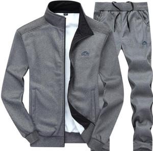 Mens Herbst Tracksuits Sport Jacken-Hosen-Hose 2pcs Kleidung Sets Designer-Anzüge