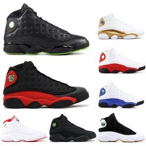 Свободные носки НОВЫЕ Высококачественные 13 Мужские Баскетбольные Кроссовки BLACK CAT BRED ALTITUDE HYPER ROYAL CHICAGO мужские кроссовки 13s спортивные Кроссовки РАЗМЕР 40-47