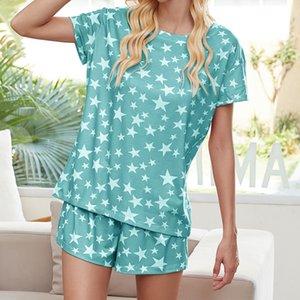 DHL Free For Pijama Tiedye Para Femme Crew Neck Tie Dye Pajama curta Define Tie Dye Top Red sweet07 zEYrm