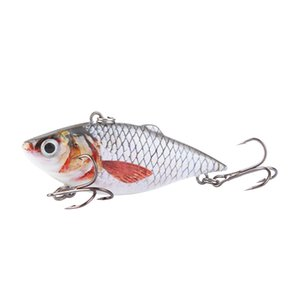 1pcs 6.3cm Vib Crankbait 8.5g Lifelike Fishing Lure High Quality Fishing Bait Slow Sinking Hard Fishing Wobbler Pesca Minivib