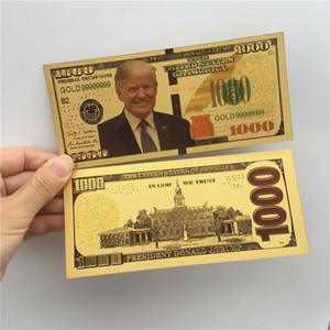 دونالد ترامب الدولار الأمريكي الرئيس البنكنوت الذهب احباط فواتير أمريكا الانتخابات العامة توريد هدايا وهمية القسيمة المال E3408