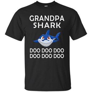 Grand-père Requin Tee-shirt Doo - Chemises de fête des pères