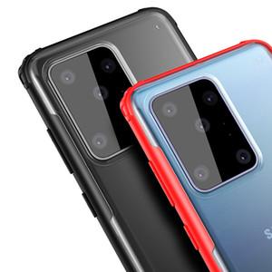 Stoßfeste Rüstung Telefon-Kasten für Samsung-Galaxie S20 Ultra-S10-Hüllen Hybrid PC / TPU schützendes transparentes Hard Cover