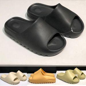 2020 Sommer kanye west Knochen Schaum Desert Sand Mode Läufer Slide Männer Frauen desinger Slippers Strand Indoor Sandalen Schuhe
