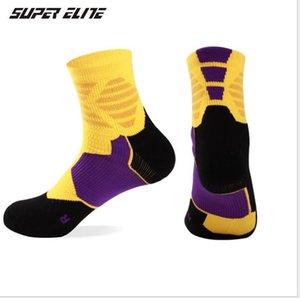 Calcetines deportivos, algodón para hombres, pies izquierdo y derecho, calcetines gruesos antideslizantes.