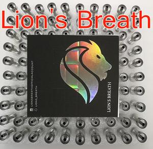 Respiração 510 atomizadores Lions respiração Carrinhos Vape cartuchos descartáveis do leão 0,8 ml 1,0 ml Rodada Imprensa Dica Ceramic Bobinas vaporizador Esvazie 10 cores