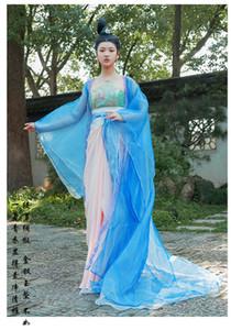 Les femmes brodent les vêtements de princesse de la dynastie Tang traînant robe costume chinois ancienne reine Costume TV Film drame performance stade
