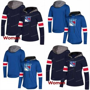 New York Rangers AD Hoodies Jerseys Homens / Mulheres 30 Henrik Lundqvist 31 Dustin Tokarski 36 Estojos Zuccarello Hoodies Jerseys Camisolas