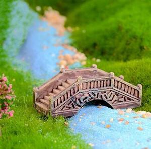 Mini Simulé Pierre Pont en arc Fairy Garden Miniatures Résine Ornements Micro Paysage jardin Décoration