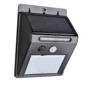IP65 À Prova D 'Água 30LEDs Painéis Solares de Energia Solar Luz PIR Sensor de Movimento LEVOU Luz Do Jardim Ao Ar Livre Caminho Sense Solar Lâmpada de Parede luz