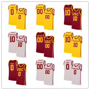 Ncaa Мужчины USC трояны College Basketball 10 DeRozan Исайя Мобли Onyeka Okongwu Скалабрини McLaughlin Chimezie Metu Agbonkpolo Джерси