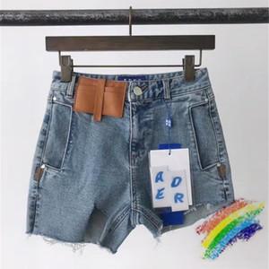 Denim Shorts Donne 1 di alta qualità falla scarni sottili sexy irregolari brevi jeans
