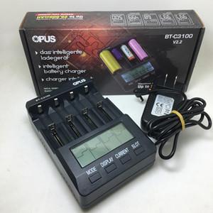 100% Autêntico Opus BT-C3100 Carregador de Bateria Universal Carregadores de Baterias de Lítio Para Sony VTC5A VTC6 18650 26650 20700 18350 14500 14650