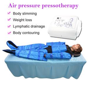 pressão de ar Pressoterapia portátil drenagem linfática massagem de pernas shaping slimmig presoterapia fisioterapia vacumterapia máquina de terno