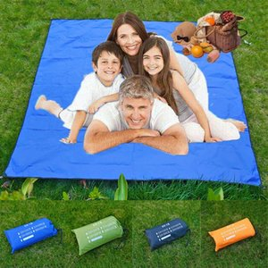Bolso Praia Mat Picnic Tent cama dobrável-cover Blanket Camping Sand-livre impermeável Blanket Praia Mat piquenique ao ar livre # 4