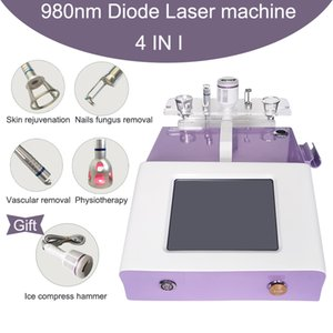 Diode laser vascular therapy machine 980nm vascular vein removal line veins removal nails fungus treatment physiotherapy laser machine