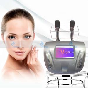 Le plus récent à haute intensité Ultrasons Focalisés HIFU visage cou rides enlèvement beauté machine non-invasive Anti vieillissement soins de la peau Spa Salon utilisation