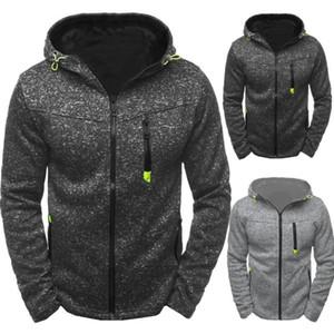 2019 Mensentwerfer Hoodies Art und Weise neue Mantel mit Kapuze Sport-Freizeit-Jacquard-Pullover Fleece Strickjacke Männer WGWY188