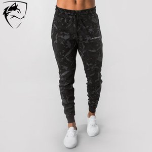 Brand New Mens Joggers Sweatpants Pantalons Camouflage Fitness Gyms hommes formation sport Pantalons Camo Pantalons simple