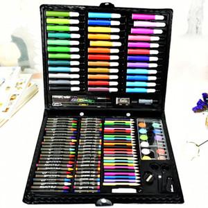 Enfants Dessin Peinture Aquarelle Stylo Crayon À L'huile Pastel Peinture Pinceau Outil De Dessin Art École papeterie