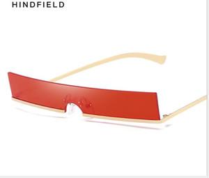 Sunglasses Euro-American Personality Glasses Square Metal Men and Women's Sunglasses Fashion Street Photo