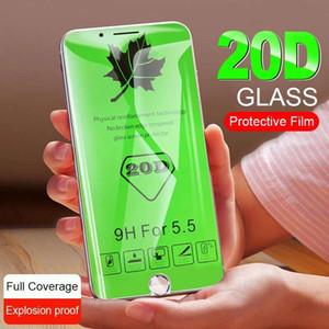 20D изогнутое закаленное стекло для Xiaomi Redmi 7 Note 7 Pro 6 Pro Защитная пленка для экрана для Xiaomi mi 9 SE 8 Lite Защитное стекло