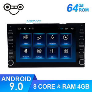 Android 9.0 estilo original Octa Core DVD universal del coche Navegador GPS Auto 1DIN Android radio de coche universal para