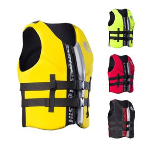 Neoprene Profession Life Vest Men Women Surfing Drifting Buoyancy Life Jackets For Adult Kids Water Sport Fishing Swimming Vests