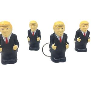 Дональд Трамп 2020 Squeeze брелок Переполненный Стресс Бал автомобилей Keyrings Творческий Смешные декомпрессионной подарков Key Chain Игрушки LJJA3789