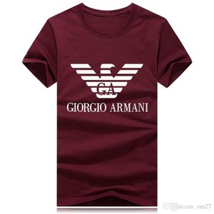 maglietta marchio T-shirt a maniche corte streetwear plus-size tee menswear designer di epoca top stampa top streetball esterna degli uomini all'ingrosso