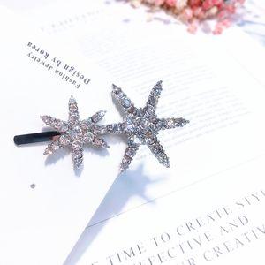 Étoile de mer Fille Étoile Épingle À Cheveux Pentagonal Creuse Perceuse Aquatique Adulte Clip Supérieur Un Mot Clip Coiffe Coréen