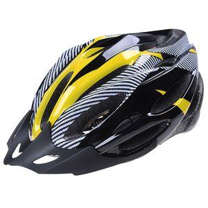 Cycling Bicycle Bike Helmet Adjustable Protection Amarillo