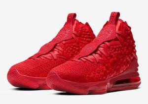 Çocuklar LeBron 17 Kırmızı Halı Basketbol Ayakkabı Laker Geleceğin Hava Oreo Tam Kırmızı Yüksek Kalite James 17 Erkek Bayan Spor Sneakers Boyut 36-46