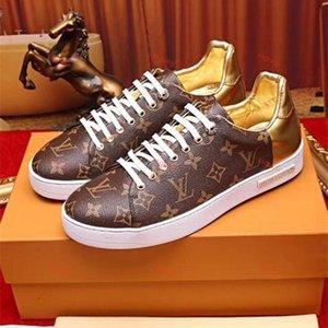 Louis Vuitton LV shoes Low top rouge bas sneakers Pour Hommes Noir leatherSpikes Mode casual Hommes Femmes Chaussures Designers loisirs Grande Taille 36-46 D9