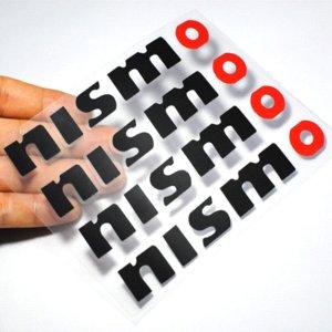Maniglia 4pcs / set del PVC Nismo Car Decal da polso Porta Colla Adesivo per Nissan Juke Tiida Teana GTR GTR 350Z 370Z 240SX ECT Accessori
