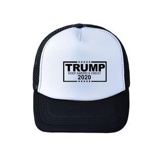 Trump Baseball Hat 8 Styles Adjustable Summer Make America Great Again Trump 2020 Snapback Mash Caps Party Hats OOA8002