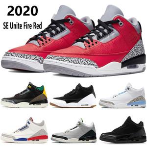 2020 Jumpman SE Unite rosso fuoco scarpe da basket uomini UNC Olimpiadi Mocha armeggiare bianco nero a infrarossi 23 mens argento stivali doposci