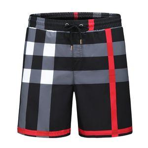새로운 여름 패션 반바지 새로운 디자이너 보드 짧은 빠른 건조 수영복 인쇄 보드 비치 바지 남성 수영 반바지-88