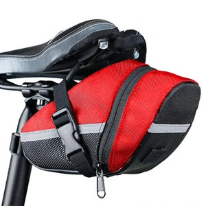 Bicycle Bike Waterproof Storage Saddle Bag Accessories Cycling Seat Cycling Tail Rear Pouch Road Bicycle Mini Saddle Seatpost Bag YL10
