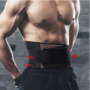 Hot Sale Sport Adjustable Neoprene Double Pull Lumbar Support Lower Elasticated Back Belt Brace Pain Relief Band Waist