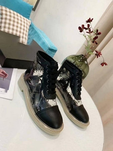 2020 new brand ladies black white twill canvas lace up sneakers boots print two tone rubber sole casual shoes 35 40