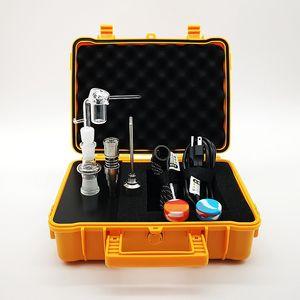 E Nail Pelican eléctrico Dab Nail controlador PID Cera TC caja de 20 mm Domeless Bobina Con Ttitanium cuarzo Nails
