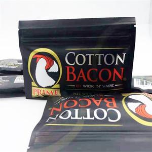 COTTON BACON 2,0 Prime Gold Version Сделано в Китае Чистый органический хлопок Wick п Vape волокна для DIY RDA RTA Форсунки DHL