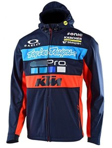 KTM Hoodie MotoGP Radfahren Windjacke KTM Jacke Motorrad-Rennanzug Wasserdichte Jacke Off-Road-Sweatshirt-Jacke