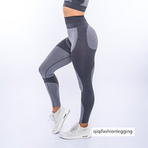Tight Sports Fitness Trousers Sexy Slim Fit Hip Lifting Middle Waist Gao Bomb Yoga Pants Female