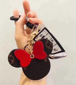 con la scatola di design di lusso keychains mens donne portachiavi titolare simpatico portachiavi chiave dell'automobile fascino del sacchetto del supporto del ricordo