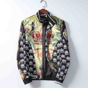 Femininos Hoodie Moda Jacket Roupa descontraída Imprimir Jacket Jacket de luxo dos homens negros com capuz Hoodie Luminous Tamanho M-3XL