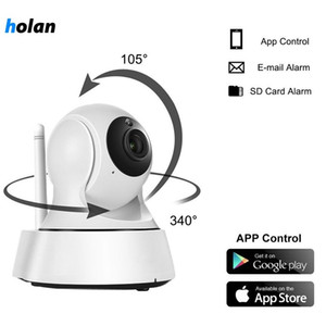 Holanvision Home Security Wireless Mini IP Camera Surveillance Camera Wifi 720P Night Vision CCTV Camera Baby Monitor